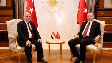 اردوغان يؤكد للعبادي بدعم خطوات الحكومة العراقية في مواجهة تداعيات الاستفتاء