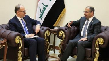 الجبوري يؤكد للسفير الاميركي على ضرورة تفعيل الاجراءات لفرض النظام في العراق