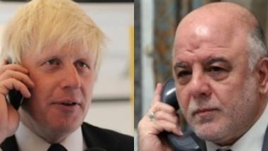 """العبادي يؤكد لوزير الخارجية البريطاني """" لا نريد سفك الدماء"""" بفرض السلطة الاتحادية"""