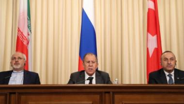 اجتماع وزاري روسي ايراني  تركي حول سوريا في تركيا