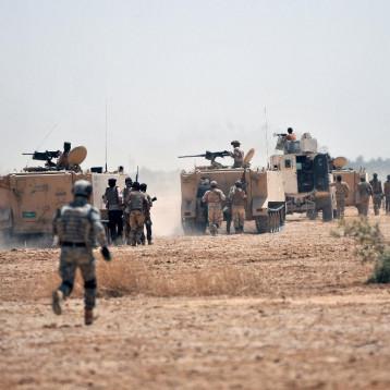استعدادات عسكرية واسعة لتطهير مناطق واسعة في صحراء الجزيرة غربي الأنبار