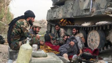 معارك عنيفة على أطراف مدينة البوكمال السورية وتنظيم « داعش» شرق دير الزور