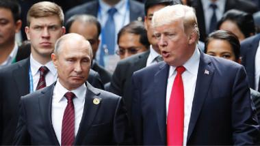 """بوتين وترامب يتفقان على توحيد الجهود للقضاء على """"داعش"""""""