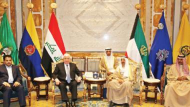 معصوم يمهّد الطريق الى مؤتمر المانحين للعراق في الكويت ويدعو شركات الأخيرة للاستثمار في جميع المجالات