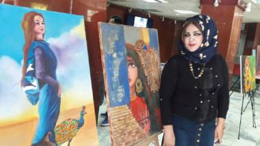 التشكيلية شروق القباني تستعد لإقامة معرض يحاكي التأريخ البغدادي في الأردن