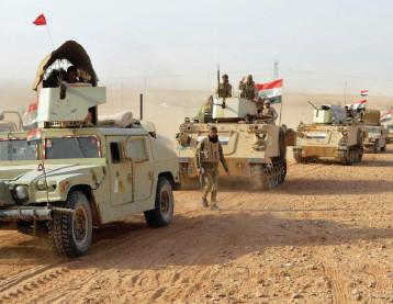 """القوّات المشتركة تمهد لعمليات كبرى تستهدف القضاء على """"داعش"""" في بادية الجزيرة وتأمين الحدود العراقية ـ السورية"""