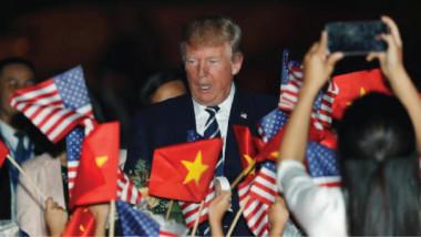 ترامب: وصفني زعيم كوريا بالعجوز ولن أرد بوصفه قصير وسمين