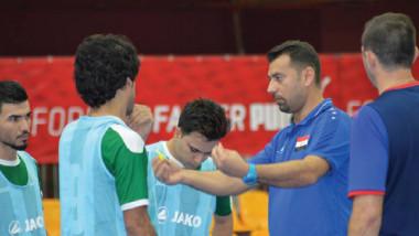«وطني الصالات» يقلب الطاولة على المنتخب  السعودي ويخطف بطاقة التأهل إلى كأس آسيا