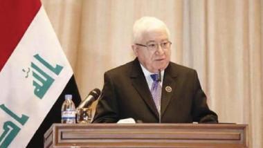 معصوم يدعو الى استثمار الظروف لتطوير علاقات العراق الخارجية