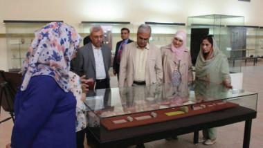 زيارات لوفود سياحية من الصين وباكستان إلى المتحف العراقي