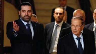 استجابة لدعوة الرئيس اللبناني الحريري يعود الى لبنان ويتراجع عن استقالته