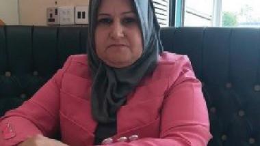 سمية الناصر ترأس أكاديمية الزهراء للفنون فرع العراق