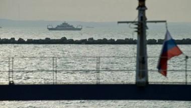 غرق سفينة شحن على متنها 11 شخصا في البحر الأسود