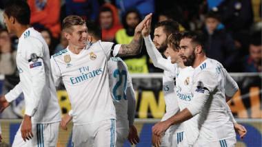 بركان ريال مدريد ينفجر بسداسية أمام أبويل.. وليفربول يفرط في الفوز