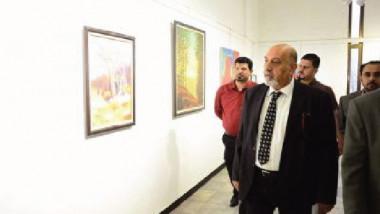 معرض (الفن ذاكرة الحياة( في دائرة الفنون