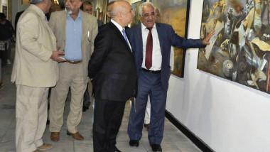 معرض بشائر النصر المبين في دائرة الفنون التشكيلية