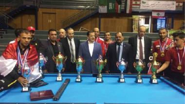 عبطان يبارك إنجازات لاعبي البليارد في بيروت