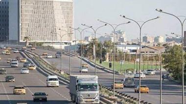 """أمانة بغداد تؤجل افتتاح طريق """"محمد القاسم"""" الى الأحد المقبل"""