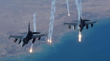 التحالف العسكري يشنّ غارات جوية على صنعاء