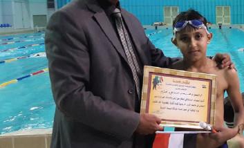 محمد رحاب.. أمنيات التفوق في أحواض السباحة