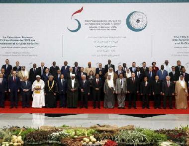 افتتاح القمة الاستثنائية لزعماء دول منظمة التعاون الاسلامي في اسطنبول