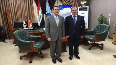 النقل تطالب أميركا بدعم مشاريع  سلطة الطيران وصيانة مدرج مطار بغداد