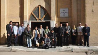 بحث مراحل إدراج بابل على لائحة التراث العالمي مع اليونسكو