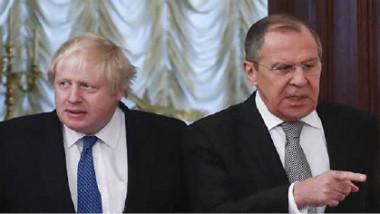 جونسون يهاجم موسكو لمحاولة تخريب الانتخابات في بريطانيا