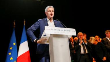 اليمين الفرنسي ينتخب رئيسه الجديد ولوران فوكييه الأوفر حظا