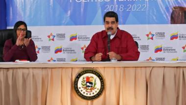 مادورو يتهم واشنطن بالوقوف  وراء اعتداء في فنزويلا