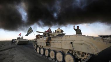 الاعلام الحربي يعلن حملة مداهمة وتفتيش في مطيبيجة والمناطق المحيطة بها