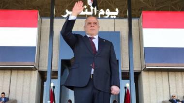 بدء الاستعراض العسكري بيوم النصر أمام العبادي