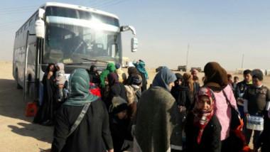 نقل اكثر من 1620 نازح من سوريا لمحل سكناهم في العراق