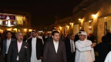 الأعرجي يدعو من قطر الى تشكيل منظومة أمنية عربية واسلامية لمحاربة الارهاب