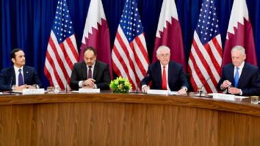 الحوار الستراتيجي الأول بين الولايات المتحدة وقطر
