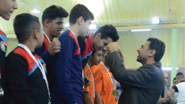 طاولة بغداد تحصد كأس دورة الألعاب الرياضية للمواهب