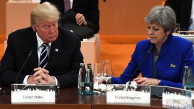 تقوية التعاون التجاري بين بريطانيا واميركا