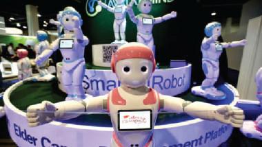 روبوتات لطيفة وودودة تصادق البشر