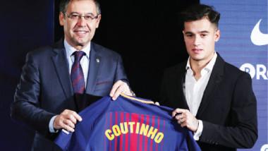 صفقة كوتينيو ترفع إنفاق برشلونة على التعاقدات البرازيلية إلى 482 مليون يورو