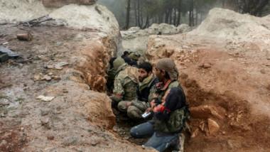 معارك عنيفة في منطقة عفرين  وأكراد سوريا يدعون الى حمل السلاح