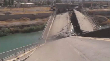 نهاية الشهر المقبل..افتتاح جسر الموصل الرابع