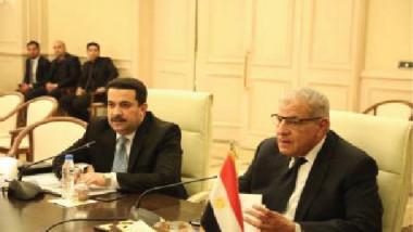 العراق ومصر يبحثان امكانية تنفيذ مشاريع صناعية مشتركة