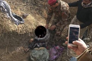 قتل إرهابيين أحدهما انتحاري شمالي بغداد