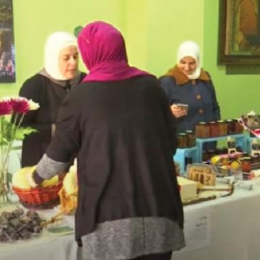 أردنيات في بازار لإظهار التنوع الثقافي