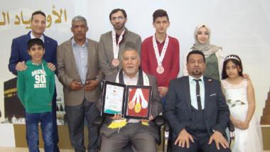 العراق يحرز وسامين واللاعبة المثالية وأفضل حكم
