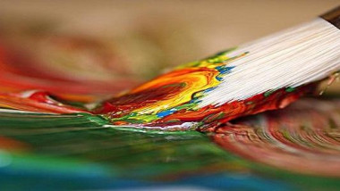 خلال افتتاح المعرض السنوي الشامل للفن التشكيلي