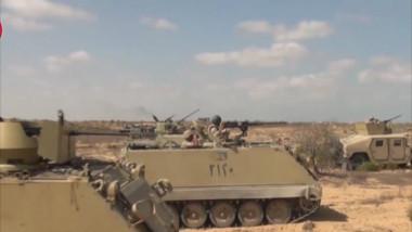 بيان ثالث للجيش المصري بشأن العملية الشاملة «سيناء 2018»