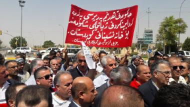 تظاهرات كردية ضد قانون يمنح عضو البرلمان تقاعدا كبيرا