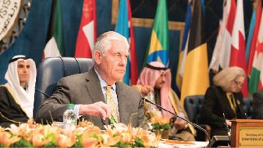 تيلرسون: التحالف الدولي حرر 98 % من الأراضي العراقية