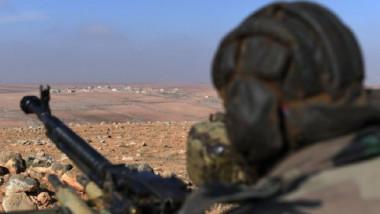 طائرة أميركية بدون طيار تدمر دبابة روسية الصنع في سوريا